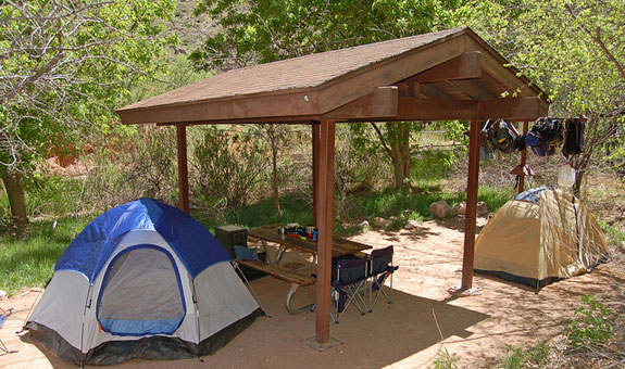 Indian Garden Campsite | Photo courtesy of Grand Canyon National Park - by Mike Quinn